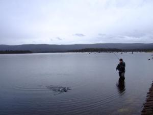 Fishing in the Grampians